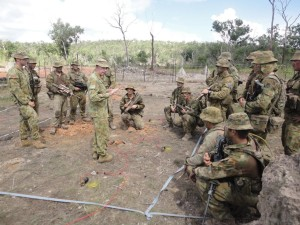 Photo courtesy of 1st Brigade, Australian Army