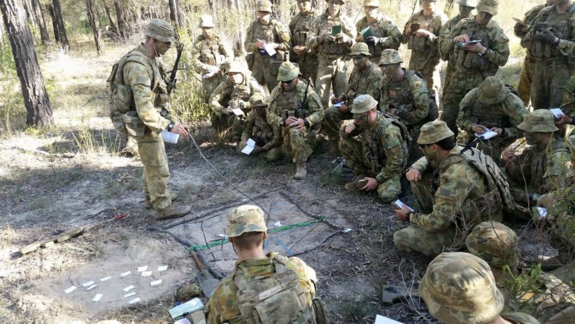 junior leadership in the n army grounded curiosity courtesy 1st brigade n army