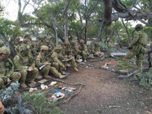 Photo courtesy of 1st Brigade, Australian Army