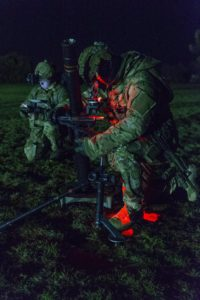Australian Army special forces soldiers on Exercise Hamel 2016