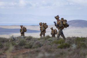 United States Marine Corps on Exercise Hamel 2016
